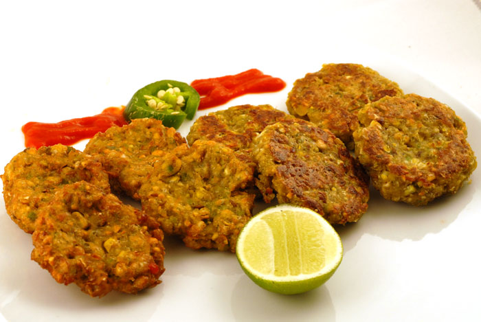 Corn Tikki Patties