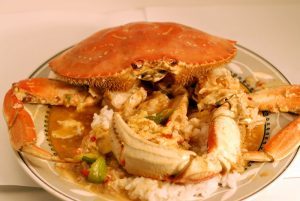 Chilli Crab With sauce